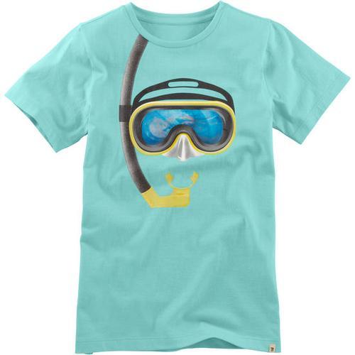 T-Shirt Hologramm, türkis, Gr. 152/158