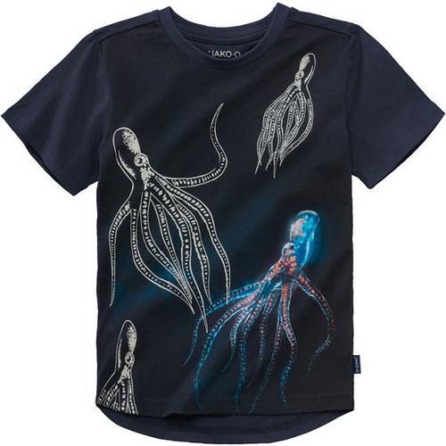 T-Shirt Farbwechsel, blau, Gr. 140/146