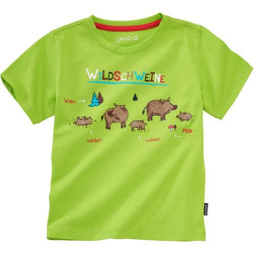 T-Shirt Lerneffekt, grün, Gr. 116/122