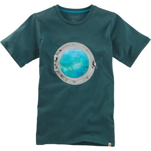 T-Shirt Hologramm, grün, Gr. 152/158