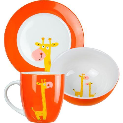 JAKO-O Porzellan-Geschirr-Set, rot