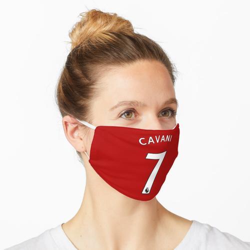 Edinson Cavani Nummer 7 Maske