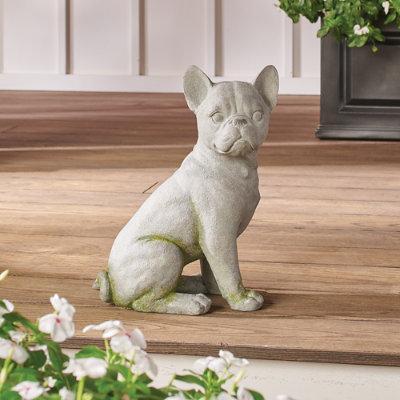 French Bulldog Garden Statue - Grandin Road