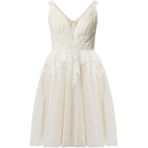 Luxuar Brautkleid aus Mesh und Spitze