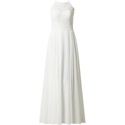 Luxuar Brautkleid aus Spitze und Chiffon