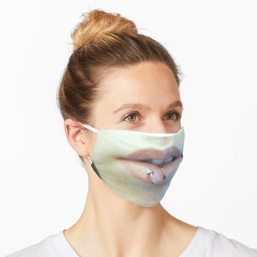 Piercing-Maske, Lippen-Piercing Maske