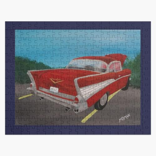 57 Chevy (Rückendesign) Puzzle