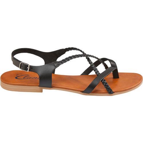 Sandale geflochten, Gr. 37