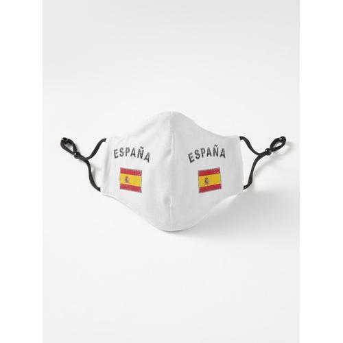 Spanien spanisch Fahne Flagge used-look Maske