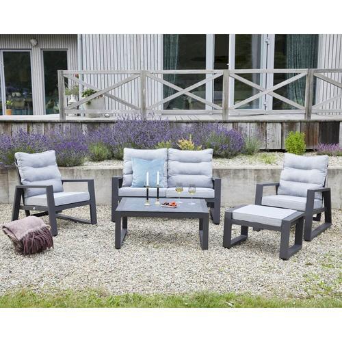 La Casa »Saint Tropez« Garten Living-Lounge-Set anthrazit