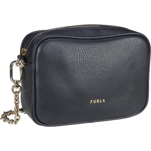 Furla Umhängetasche Real Mini Camera Case Nero (2.5 Liter)