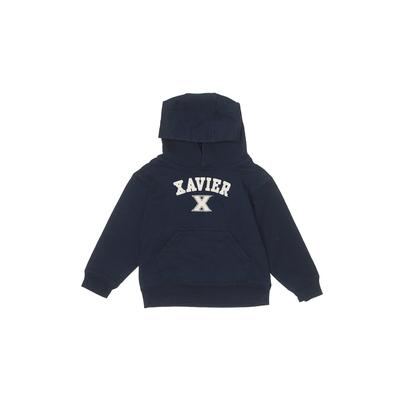 College Kids - College Kids Pullover Hoodie: Blue Solid Tops - Size 3Toddler