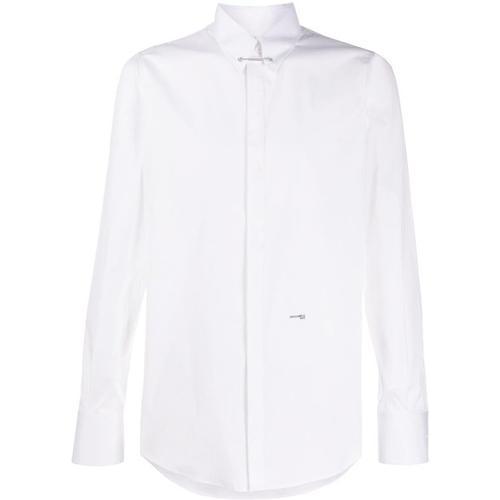 DSquared² Schmales Hemd mit Kragennadel