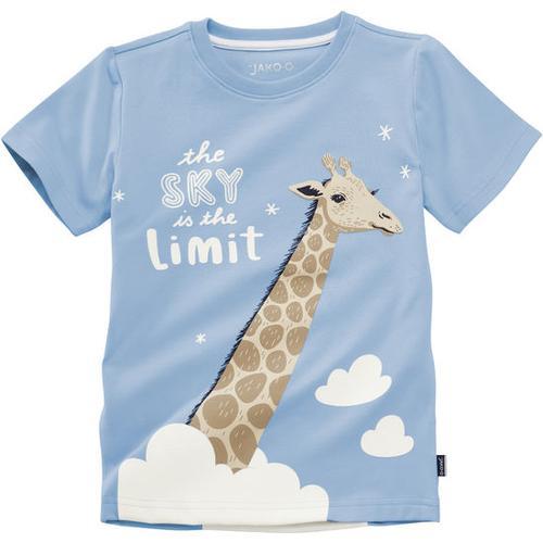 T-Shirt lustige Tiere, blau, Gr. 116/122