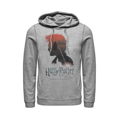 Harry Potter™ Athletic Heather Harry Potter The Boy Who Lived Fleece Graphic Hoodie