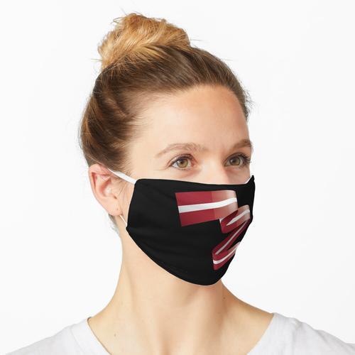 Dies ist mein Land und meine Flagge, Lettland Maske