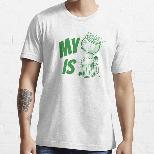 Mein Goldschatz ist BIER - St. Patrick's Day Essential T-Shirt