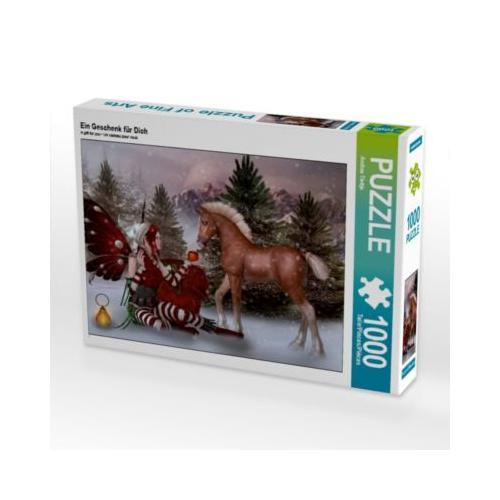Ein Geschenk Dich Foto-Puzzle Bild von Illu-Pic-A.T.Art Puzzle Kinder