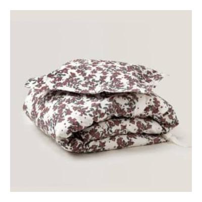 Garbo & Friends - Cherry Blossom Cotton Percale Single Bed Duvet Cover Bedset