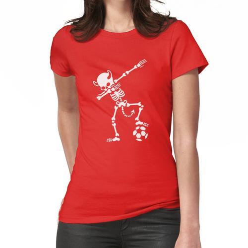 Dab Dabbing Rode Duivels / Diable Rouge soccer Frauen T-Shirt