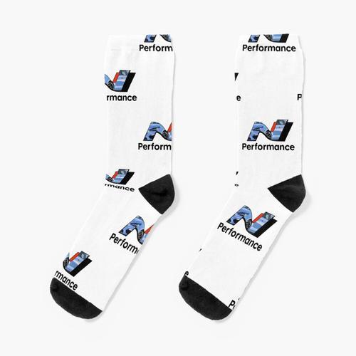 N Leistung - Leistung Blau Socken