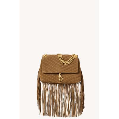 Edie Crossbody Bag With Fringe