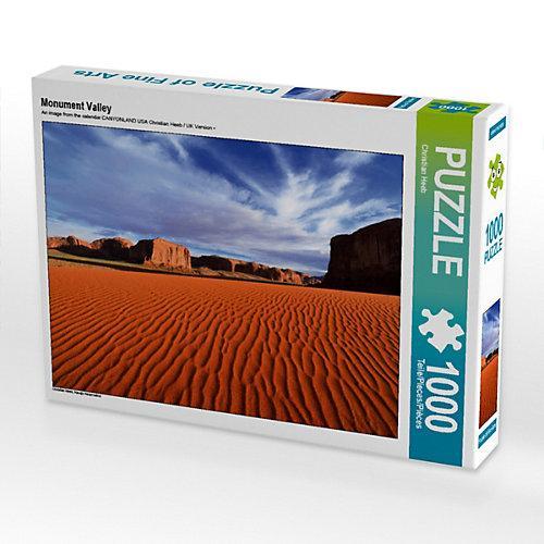 Monument Valley Foto-Puzzle Bild von Christian Heeb Puzzle