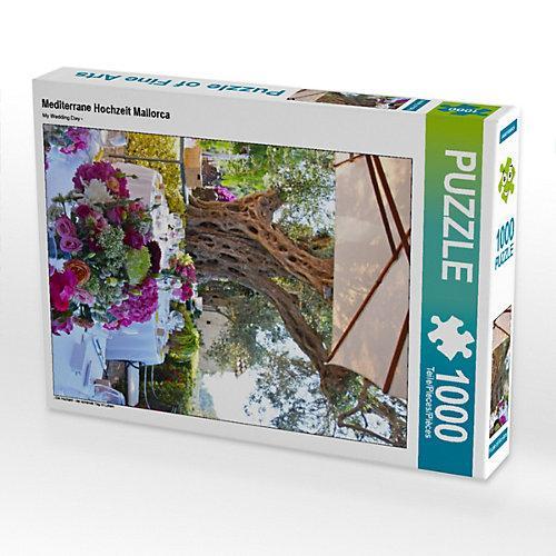 Mediterrane Hochzeit Mallorca Foto-Puzzle Bild von tina bentfeld Puzzle