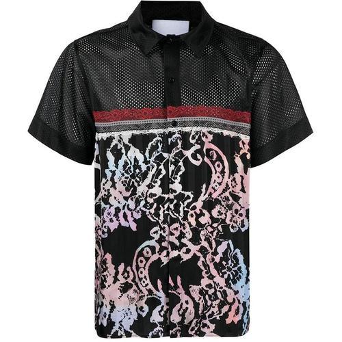 Koche Hemd im Patchwork-Design