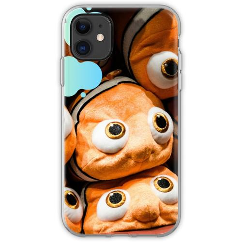 Nemo Stofftiere Flexible Hülle für iPhone 11