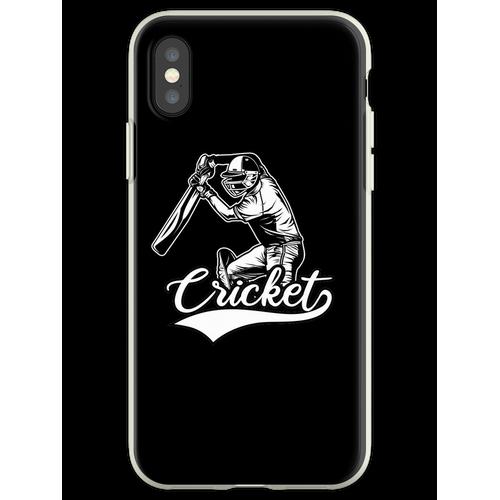Cricket Cricket Cricket Flexible Hülle für iPhone XS