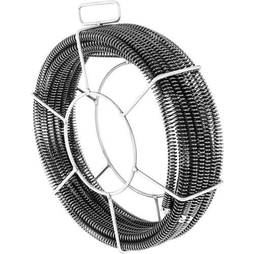 Spirale Rohrreiniger 16 mm + 15 mm Rohrreinigungsspirale Abflussreiniger