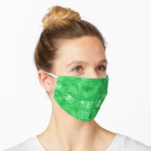 Handgemachtes VS Digital GRÜN Maske