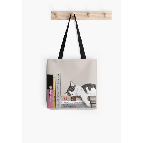 Schutzengel des Buchclubs Tasche