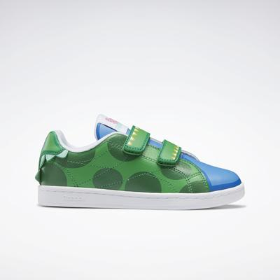 Reebok Unisex Peppa Pig Complete CLN 2 Shoes - Preschool in Hero Green/Athletic Blue/Stem Green Size 13 - Lifestyle Shoes