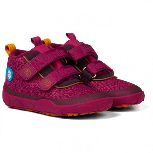 Affenzahn - Kid's Knit Vogel - Sneaker 21   EU 21 lila/rot
