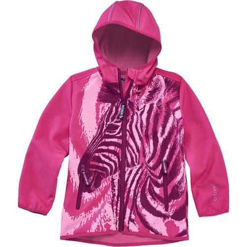 Softshell-Jacke Zebra, pink, Gr. 116/122