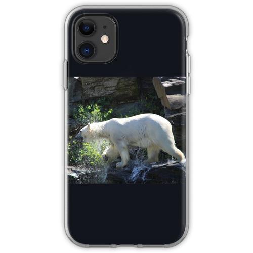 Eisbär Wasserdruck Flexible Hülle für iPhone 11