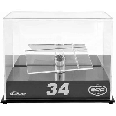 Michael McDowell Fanatics Authentic NASCAR 2021 Daytona 500 Champion Engraved Logo 1:24 Die-Cast Display Case With Platform