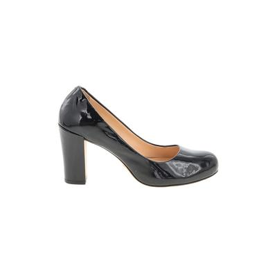 Cole Haan Nike Heels: Black Solid Shoes - Size 8
