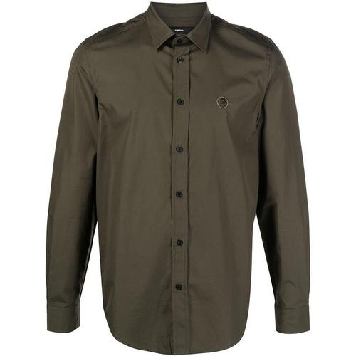 DIESEL Hemd aus Popeline