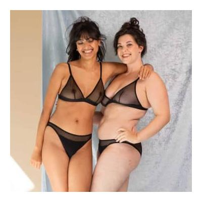 Olly Lingerie - Selune Panties In Black - XS