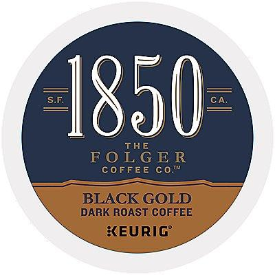 72 Ct 1850 Brand Coffee Black Gold Coffee 72-Count (3 Boxes Of 24) K-Cup® Pods.