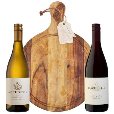 90 Point Wine & Wood Cheese Board Gift Set