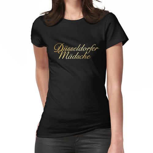 Düsseldorfer Mädsche Düsseldorf Design (Gold) Frauen T-Shirt