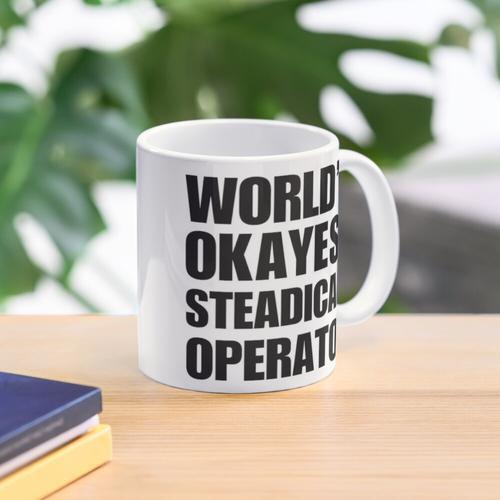 Funny World's Okayest Steadicam Operator Coffee Mug Mug