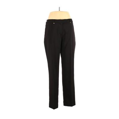 Lady Hagen Dress Pants - High Rise: Black Bottoms - Size 10