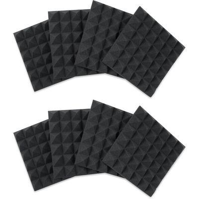 Gator Framework Acoustic Treatment 8 pack Charcoal