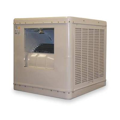 ESSICK AIR 2YAE3-2HTL5 Ducted Evaporative Cooler with Motor 6500 cfm, 1800 sq.