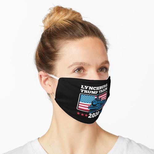 Lynchburg Trump Train 2020 Maske